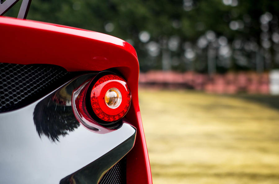 Lotus 3-Eleven 430 review rear lights