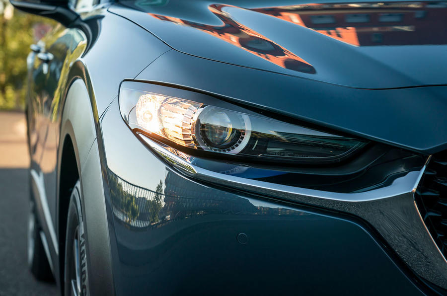 Mazda CX-30 2019 road test review - headlights