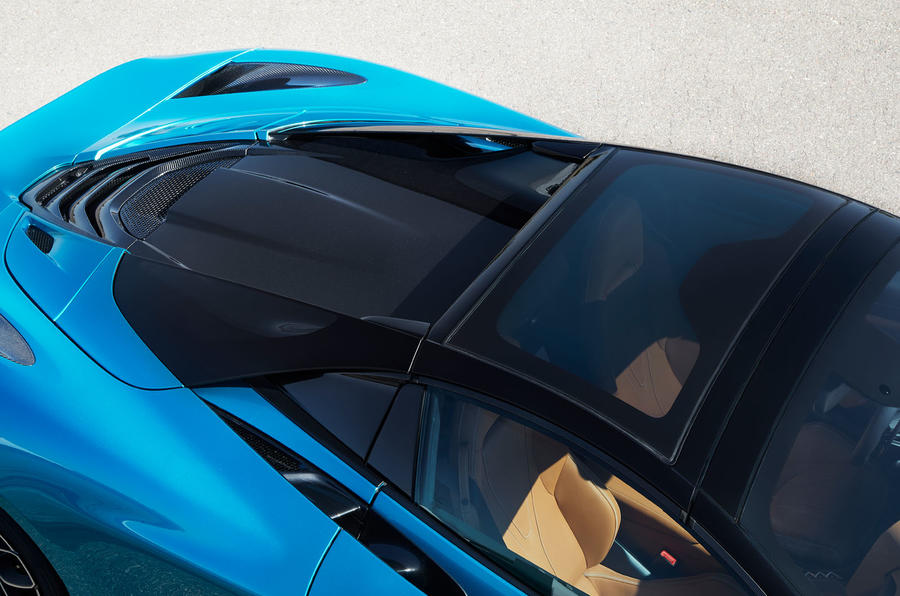 McLaren 720S Spider 2019 road test review - roof