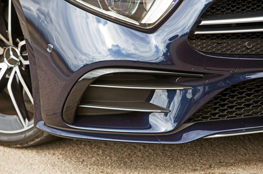 Mercedes-AMG CLS 53 2018 road test review - front grille