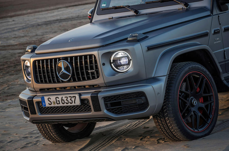 Mercedes-AMG G63 2018 review front end