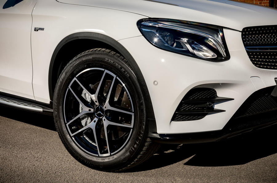 Mercedes-AMG GLC 43 road test review - alloy wheels