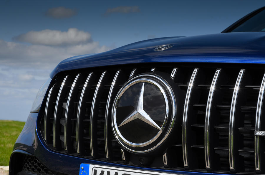 Mercedes-AMG GLE 53 2020 road test review - nose