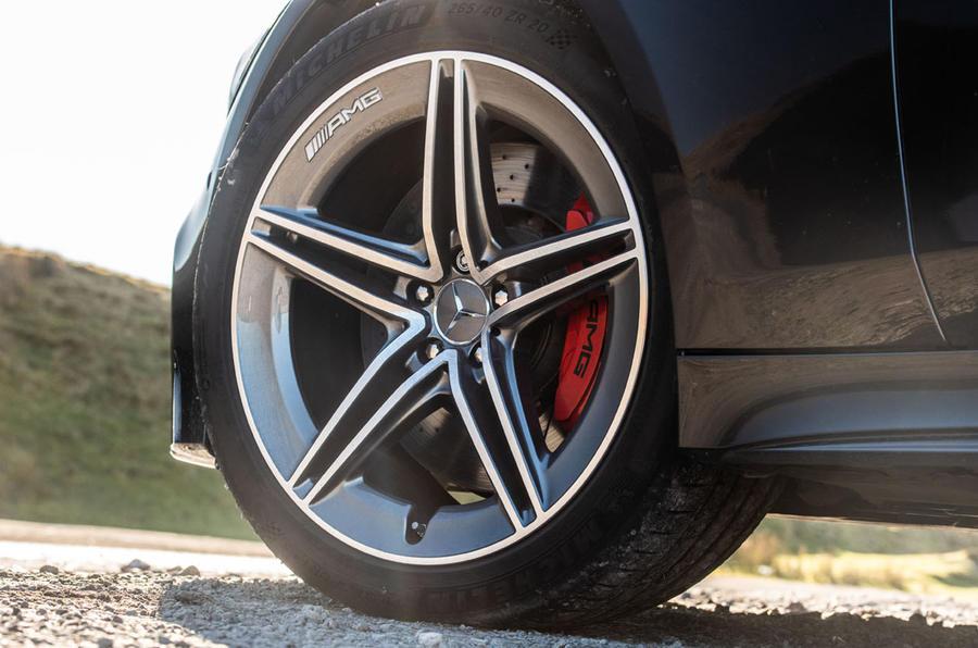 Mercedes-AMG GT four-door Coupé 2019 road test review - alloy wheels