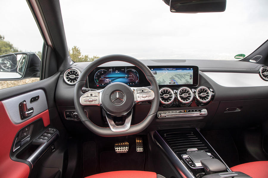 Mercedes-Benz B-Class review - dashboard