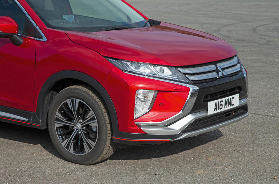 Mitsibushi Eclipse Cross 2018 review front end