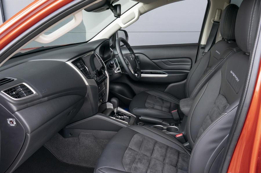 Mitsubishi L200 2019 road test review - cabin