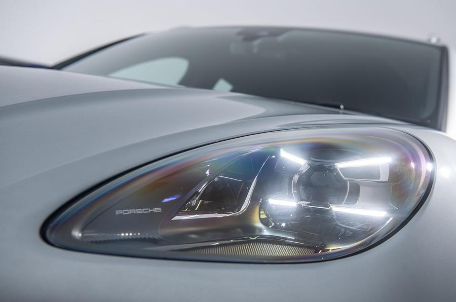 Porsche Macan 2019 road test review - headlights