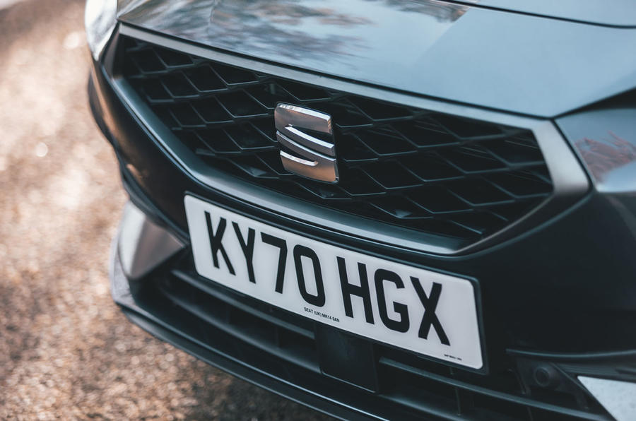 Seat Leon eHybrid 2020 road test review - nose