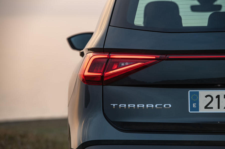 Seat Tarraco 2018 review - rear lights