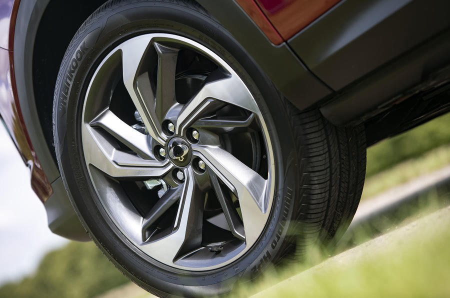 Ssangyong Korando 2019 road test review - alloy wheels