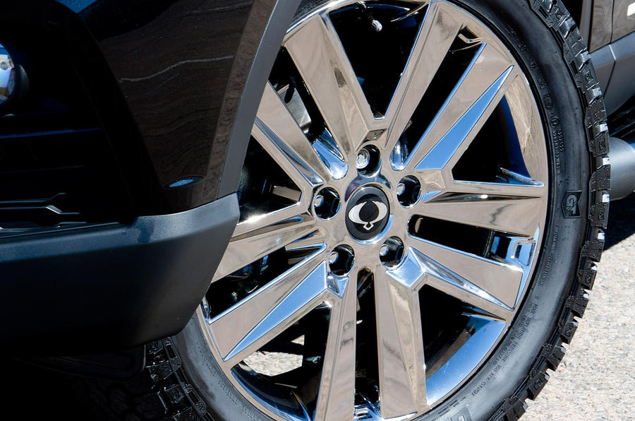 Ssangyong Musso Saracen 4x4 2018 road test review alloy wheels