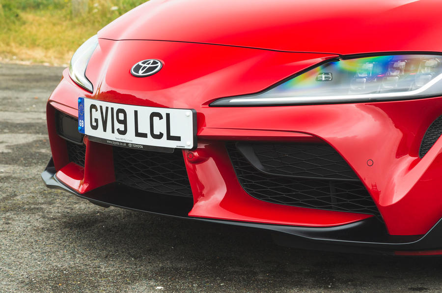 Toyota GR Supra 2019 road test review - front bumper