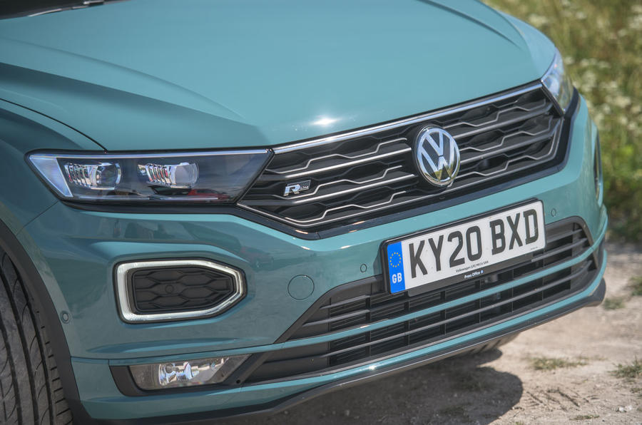 Volkswagen T-Roc Cabriolet 2020 road test review - front end