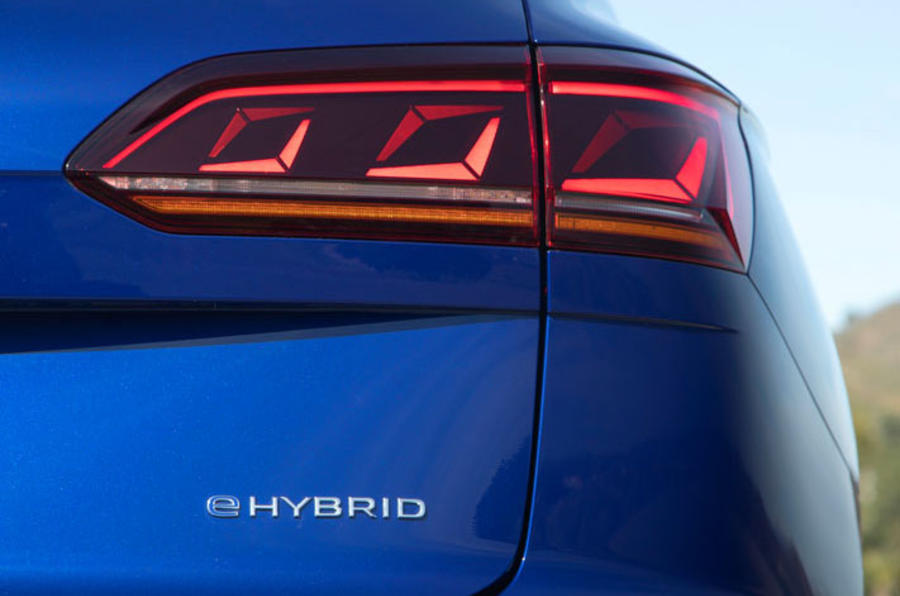 Volkswagen Touareg R road test review - rear lights