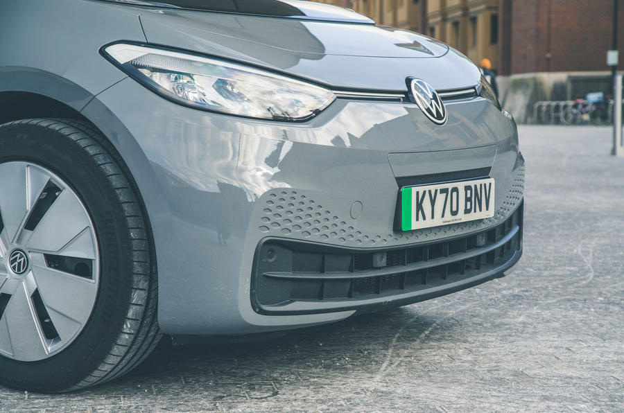 4 VW ID 3 2021 test routier nez de la revue