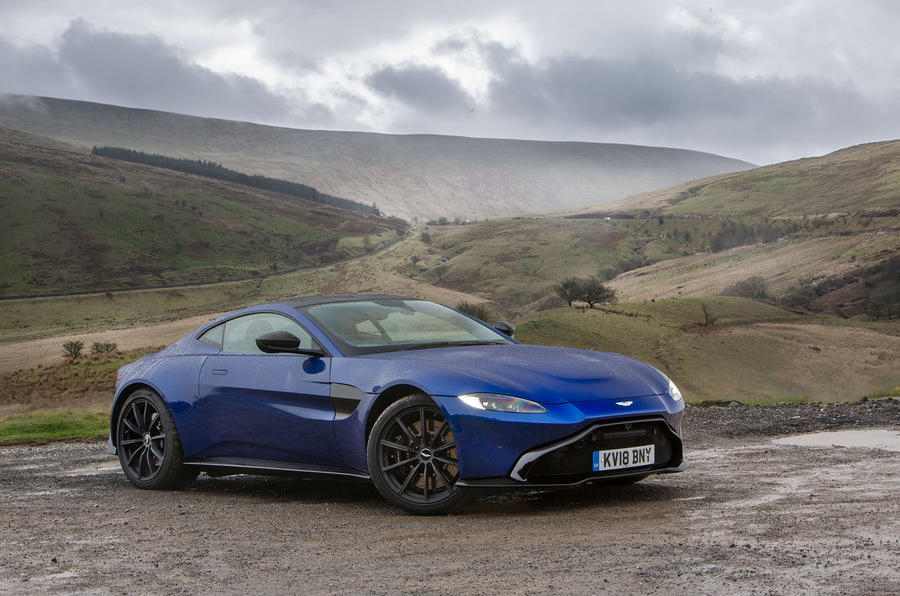 Aston Martin Vantage 2018 review hero static