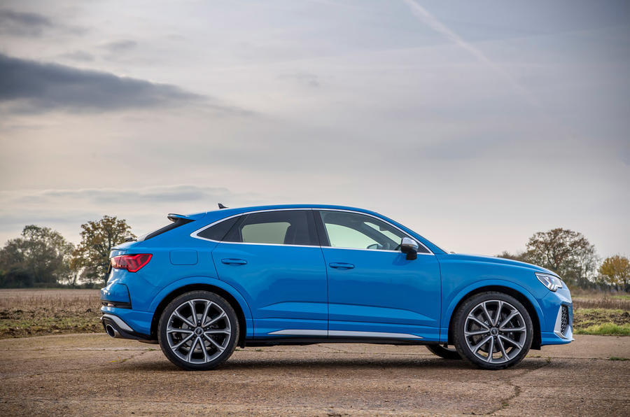 Audi RS Q3 Sportback 2020 road test review - static side
