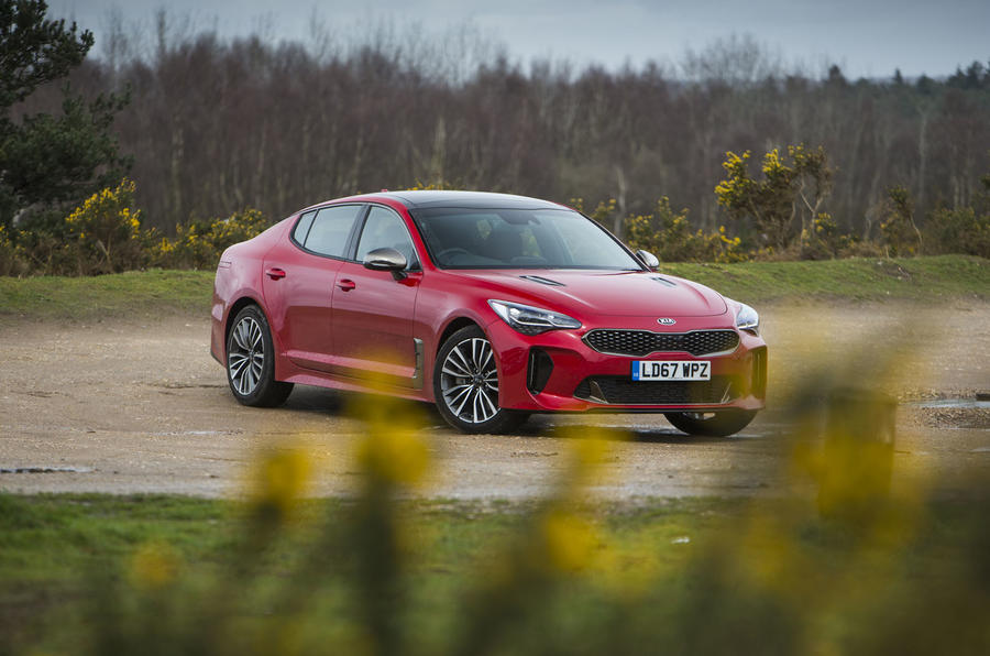Kia Stinger GT line 2018 review static