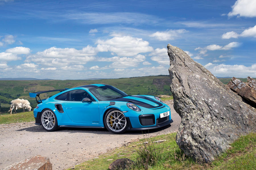 Porsche 911 GT2 RS 2018 road test review static hero