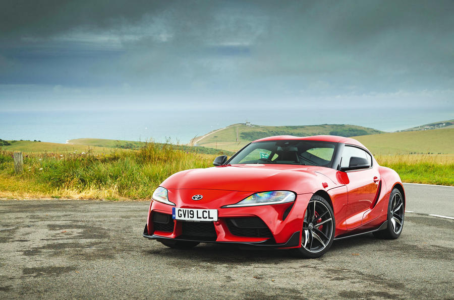 Toyota GR Supra 2019 road test review - static