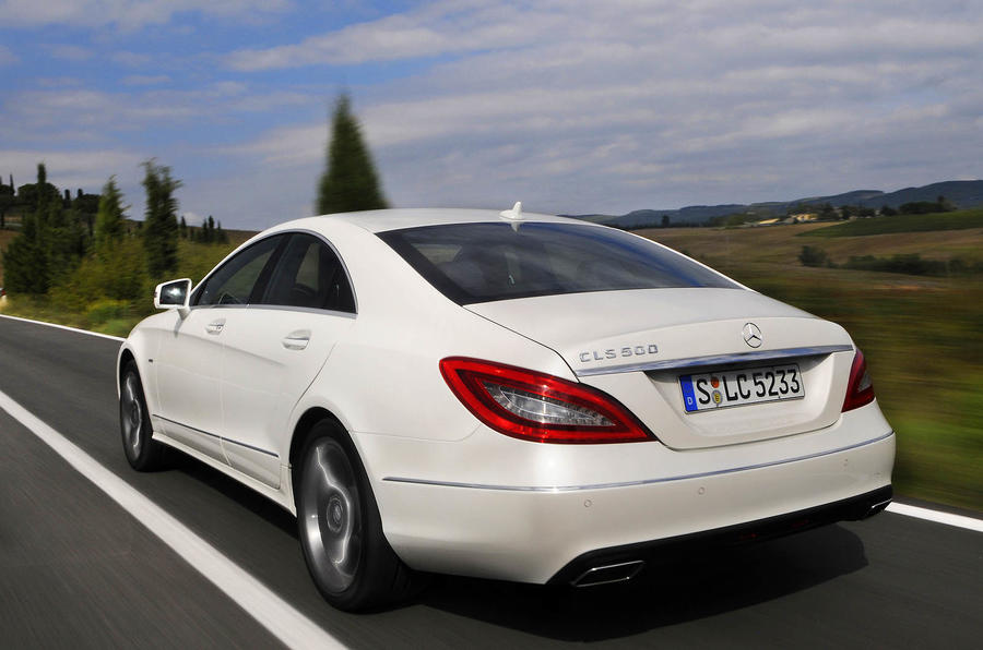 Mercedes-Benz CLS 500 rear quarter