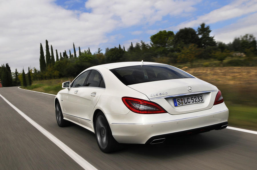 Mercedes-Benz CLS 500 rear