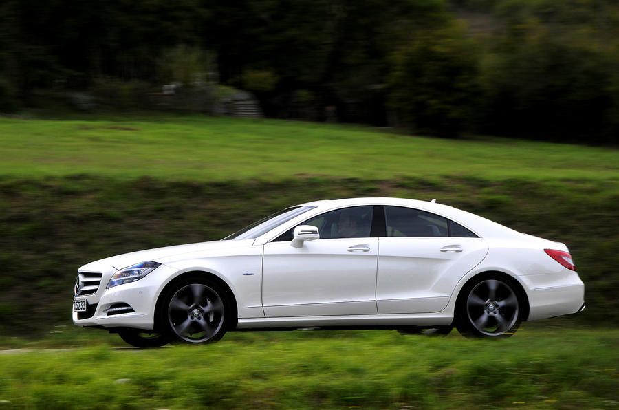 Mercedes-Benz CLS 500 side profile