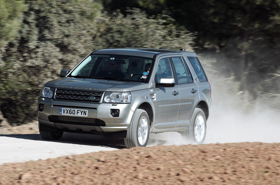 Land Rover Freelander off-road
