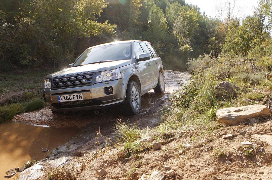 Land Rover Freelander off-roading