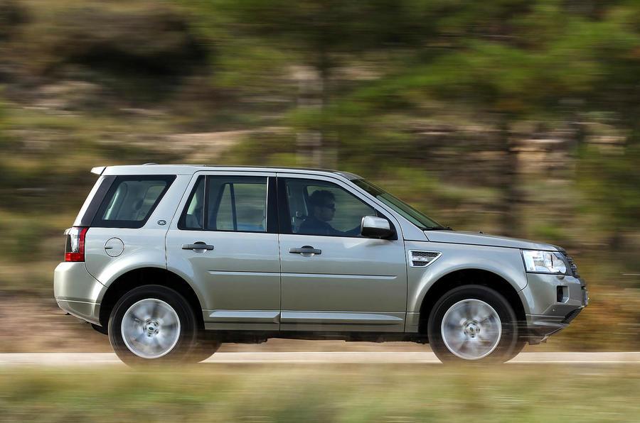 Land Rover Freelander side profile