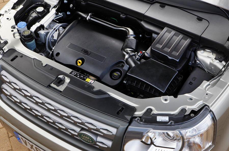 2.2-litre Land Rover Freelander diesel engine