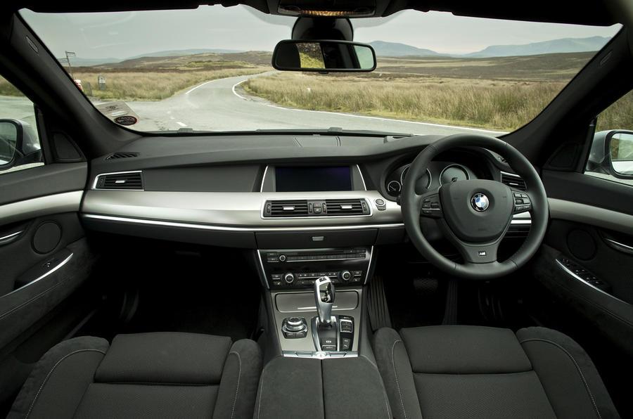 BMW 530d GT dashboard