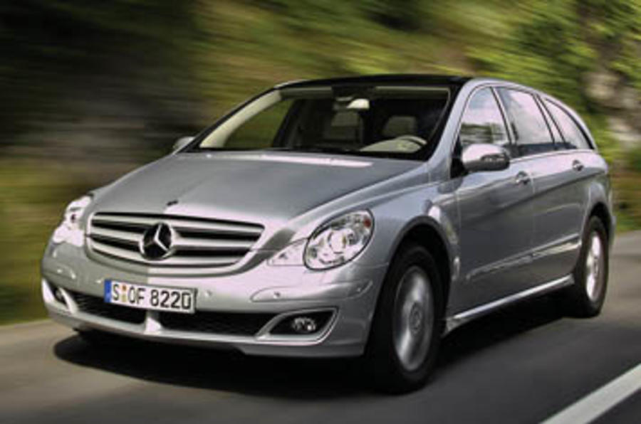 mercedes benz r 320 cdi review autocar. Black Bedroom Furniture Sets. Home Design Ideas