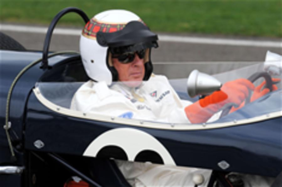 Charity song for Jackie Stewart