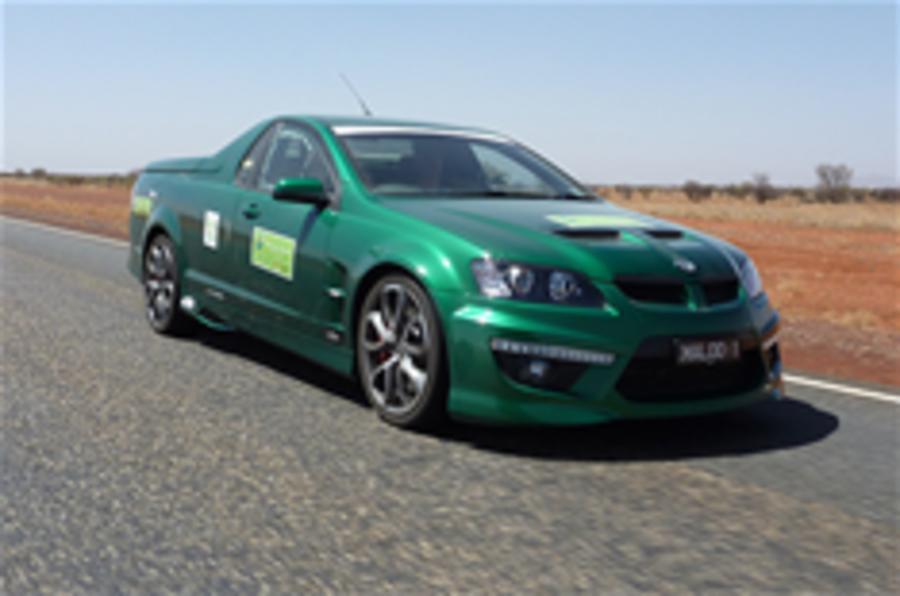 V8 Maloo wins green challenge