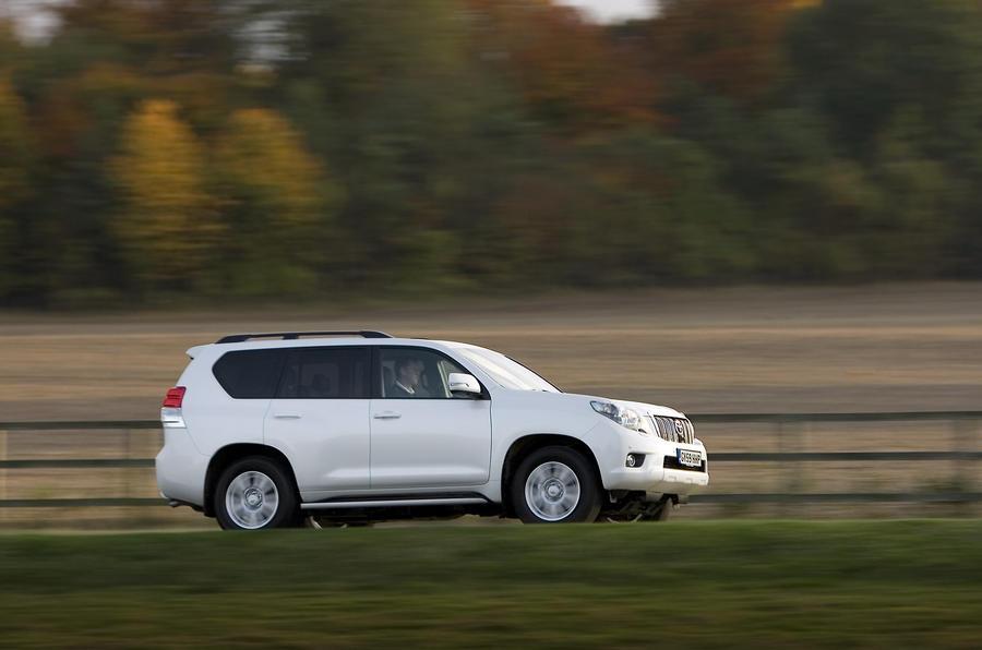 Toyota Land Cruiser side profile