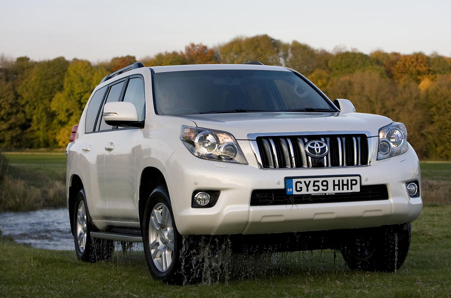 Toyota Land Cruiser LC5 3 0 first UK drive