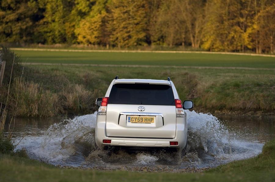 Toyota Land Cruiser rear end