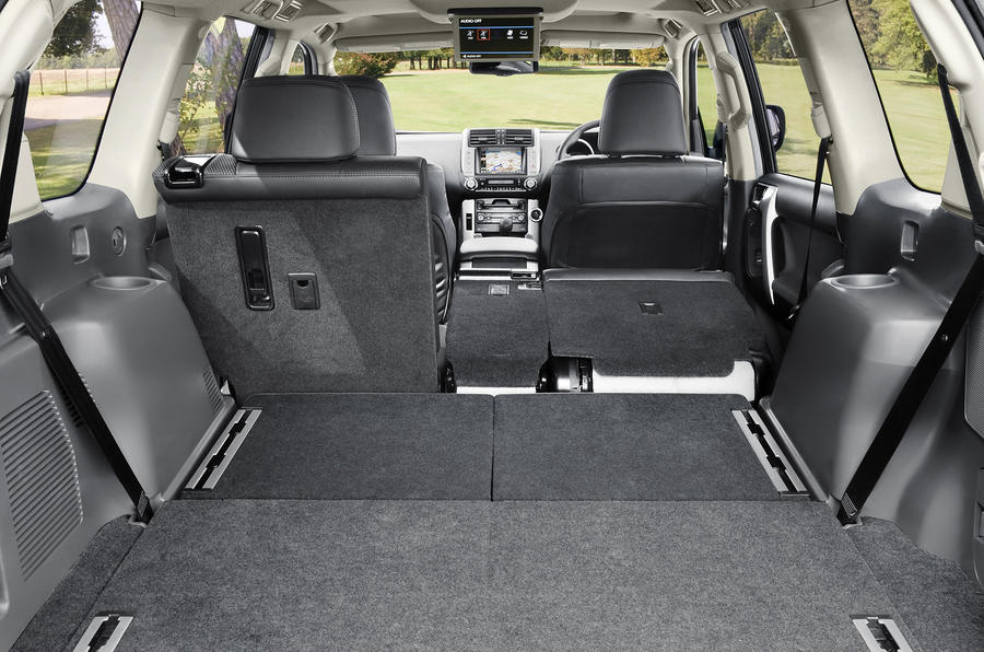 Toyota Land Cruiser extended boot space