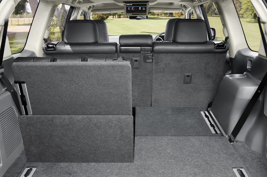 Toyota Land Cruiser seating flexibility
