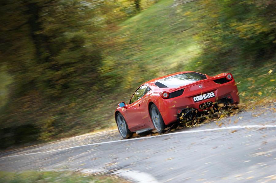 Ferrari 458 Italia supercar