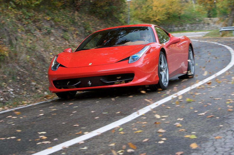 201mph Ferrari 458 Italia