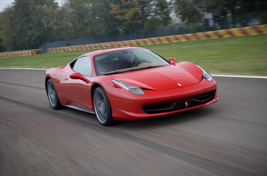 Ferrari 458 Italia front quarter