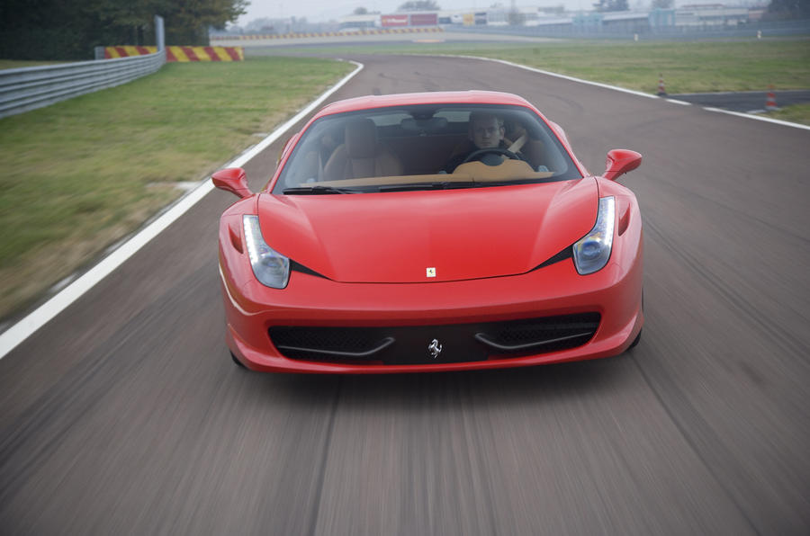 Ferrari 458 Italia front end