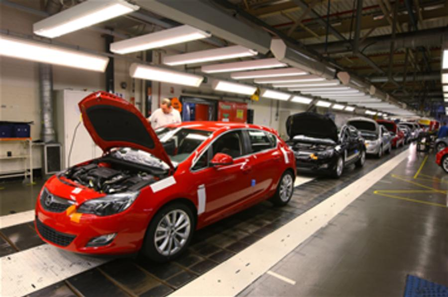 Vauxhall workers' pay freeze