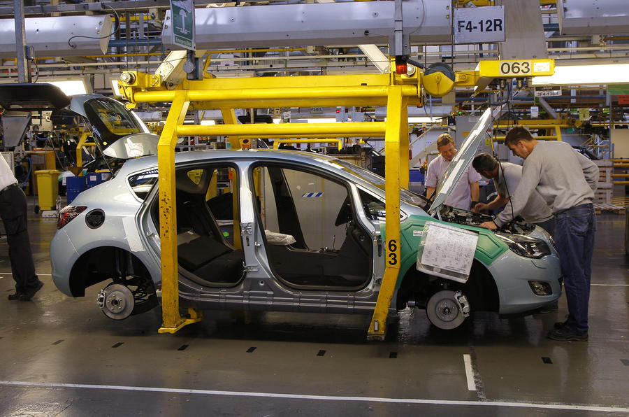 UK car production up 64.8%