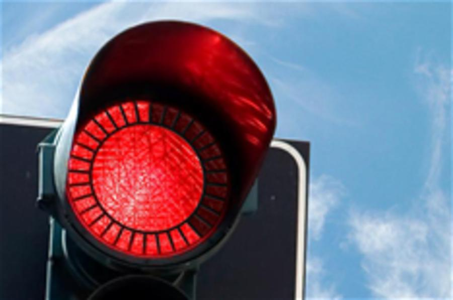 The fuel saving traffic light
