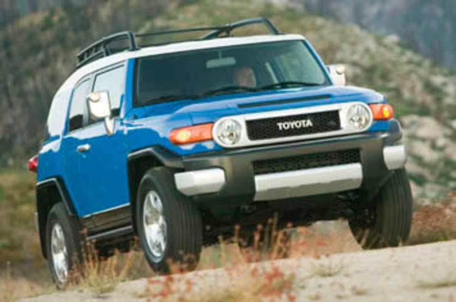 Toyota Fj Cruiser Uk Review >> Toyota FJ Cruiser review | Autocar