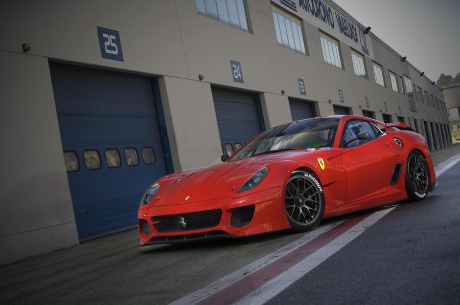 Ferrari 599XX side profile